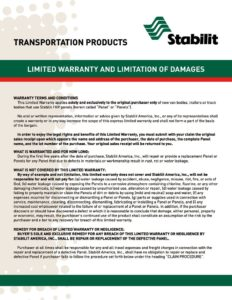 thumbnail of Steeliner Warranty